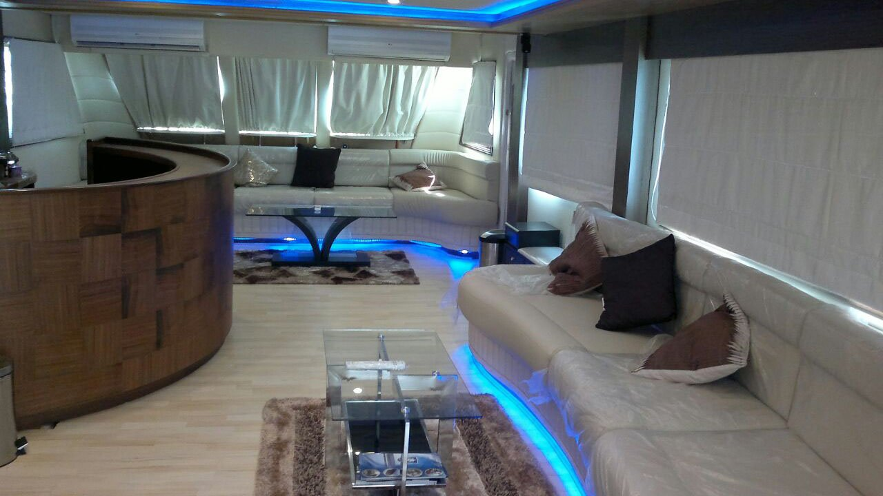 Inside of Yacht